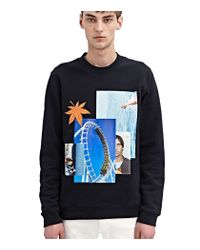 Raf Simons - Black Rollercoaster Sweater for Men - Lyst