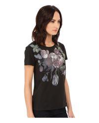 Vivienne Westwood - Black Flower T-shirt - Lyst