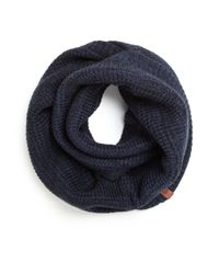 Bickley + Mitchell | Blue Thermal Infinity Scarf for Men | Lyst
