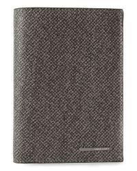 Giorgio Armani | Gray Coat Wallet | Lyst