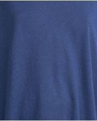 Zara   Blue Oversize T-shirt   Lyst