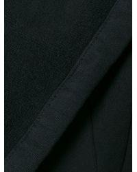 Thom Krom - Black Draped Open Front Cardigan - Lyst
