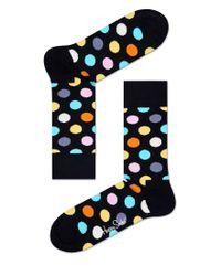 Happy Socks | Big Dot Black - Black for Men | Lyst