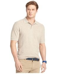 Izod - Natural Short Sleeve Heritage Pique Polo for Men - Lyst