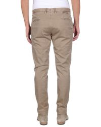 Incotex | Natural Casual Trouser for Men | Lyst