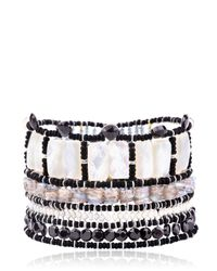 Ziio - Black Ming Bracelet - Lyst