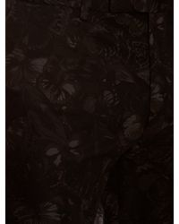 Valentino - Black Slim-fit Camubutterfly-print Trousers for Men - Lyst