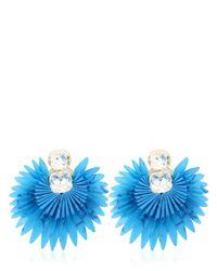 Vanina - Blue Paradise Earrings - Lyst