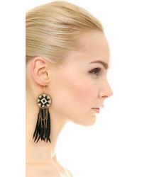 Fiona Paxton | Metallic Dakota Earrings - Black Multi | Lyst