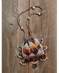 Free People - Multicolor Vintage Beaded Crossbody Bag - Lyst