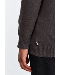 Vans - Gray Henrich Patterned Sweater for Men - Lyst