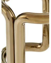 Lanvin - Metallic Ischia Cuff - Lyst