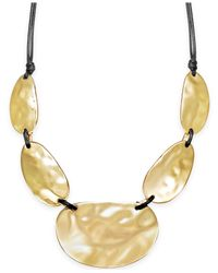 INC International Concepts | Metallic Metal Statement Necklace | Lyst