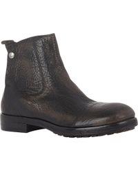 Elia Maurizi - Black Cap-Toe Chelsea Boots for Men - Lyst