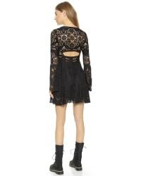 Free People - Black Psychomagic Dress - Lyst