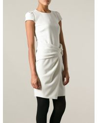 Emilio Pucci - White Knotted Dress - Lyst