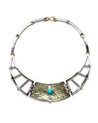 Pamela Love | Metallic Frida Breastplate | Lyst