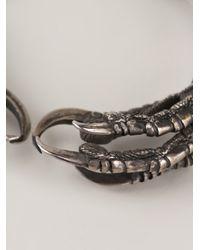 Ann Demeulemeester - Gray Raven Claw Bracelet - Lyst