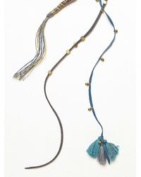 Free People | Blue Desert Sun Braid In | Lyst