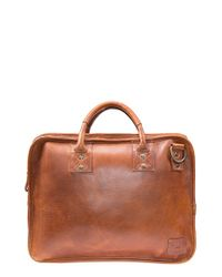 Will Leather Goods | Brown 'hank' Satchel for Men | Lyst