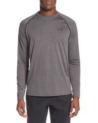 Under Armour | Black Long Sleeve Raglan T-shirt for Men | Lyst