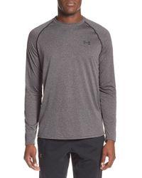 Under Armour - Black Long Sleeve Raglan T-shirt for Men - Lyst
