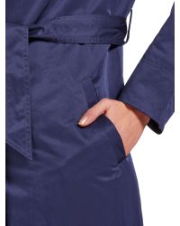 Cloud Nine - Blue Lightweight Hooded Wrap Jacket - Lyst