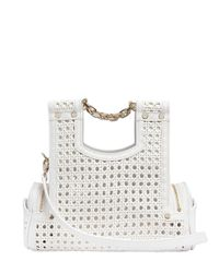 Corto Moltedo | White Priscillini Woven Leather Shoulder Bag | Lyst