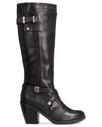 Rialto | Black Madyson Wide Calf Boots | Lyst