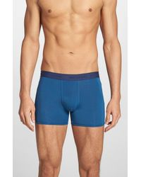 Michael Kors | Blue Stripe Boxer Briefs for Men | Lyst