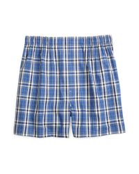Brooks Brothers - Blue Slim Fit Large Plaid Boxers for Men - Lyst