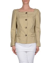 RED Valentino - Natural Blazer - Lyst