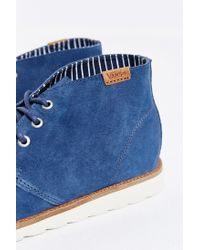 Vans - Blue Desert Chukka Sneakerboot for Men - Lyst