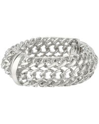 Kenneth Jay Lane | Metallic 8463bps Bracelet | Lyst
