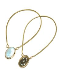 Pamela Love | Blue Oracle Pendant | Lyst