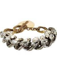 Lanvin | Metallic Susan Bracelet | Lyst