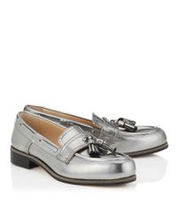Jimmy Choo - Metallic Warrant 20 - Lyst