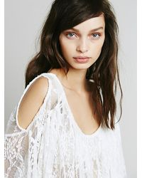 Free People - White Lost In Austin Top - Lyst