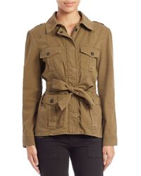 Sanctuary | Green Belted Utility Jacket | Lyst