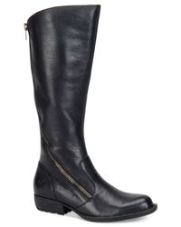 Born - Black Iona Tall Boots - Lyst
