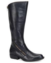 Born | Black Iona Tall Boots | Lyst