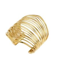 Robert Lee Morris | Metallic Line Cuff, Assorted Metals | Lyst
