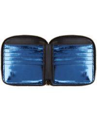 Paul Smith | Black Leather Zip Bifold Wallet for Men | Lyst