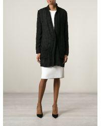 Lanvin - Black Sheer Jacket - Lyst