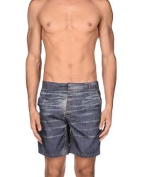 Sundek - Gray Beach Trousers for Men - Lyst