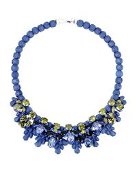 Rarities - Blue Vintage Candy Stripe Sunglasses - Lyst