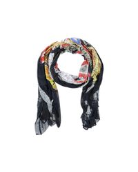 DSquared² - Multicolor Logo Printed Scarf for Men - Lyst