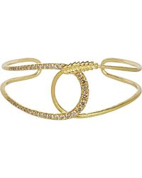 Annoushka | Metallic Vasilisa 18ct Yellow-gold And Diamond Cuff | Lyst
