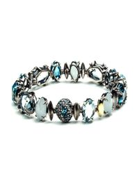 Alexis Bittar - Multicolor Midnight Marquis Tennis Bracelet With 18k Gold You Might Also Like - Lyst