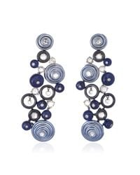 Sidney Garber | Beautiful Blues Earrings | Lyst
